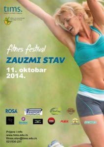 Plakat Fitnes stav
