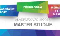 Master studije – treći konkursni rok