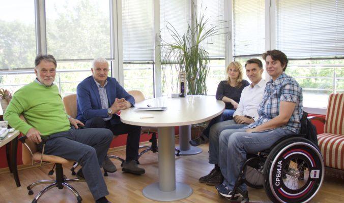 Potpisan Ugovor o saradnji između Paraolimpijskog komiteta Srbije i Fakulteta za sport i turizam