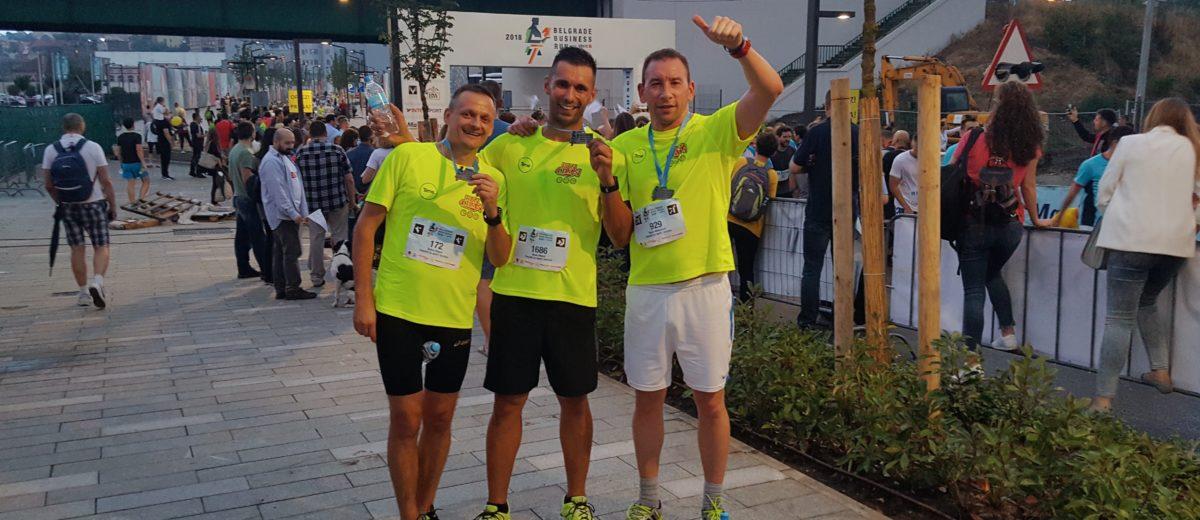 Tims na Belgrade Business Run 2018