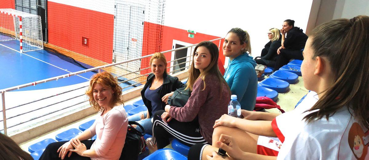 Studenti psihologije u Sportskom centru na Klisi