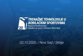 """Naučna konferencija """"TRENAŽNE TEHNOLOGIJE U BORILAČKIM SPORTOVIMA"""""""
